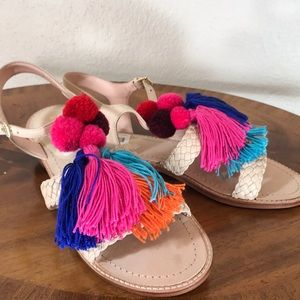 Kate Spade leather sandals. NWT